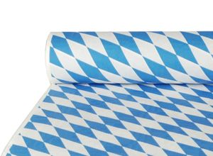 """PAPSTAR Damast-Tischtuch """"Bayrisch Blau"""" (B)1,0 x (L)50 m"""