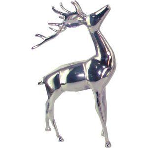 Hirsch 2 er Set Höhe 11 cm Hirschkopf Hirsch Geweih Figur  Deko Weihnachten