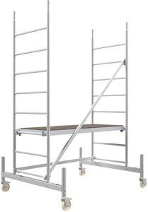 Rollfix 300 | inkl. Rollen (Ø 125 mm) | Standardtraverse | Rollgerüst