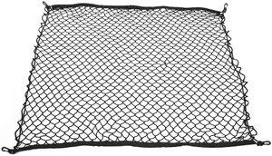 Auto Gepäcknetz, Fydun 100 * 100 cm Universal Auto Kofferraum Gepäck Fracht Elastic Net Organizer Mesh Halter Netz Schutznetz Trennnetz Schwarz