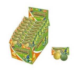 ZED Candy Wunderball Süss / Sauer Kaugummi mit bunten Schichten 50 Stück