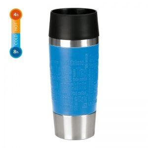 emsa Isolierbecher Travel Mug  360 ml, Farbe Bleu