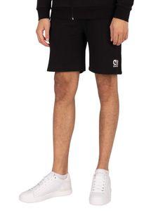 Cruyff Herren Hernandez Sweat Shorts, Schwarz L