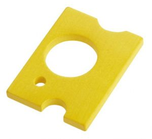 Haba spielzeug Lebensmittel Holz Scheibe Käse 7 cm gelb