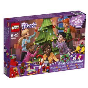 LEGO® Friends LEGO® Friends Adventskalender mit Weihnachtsschmuck 41353