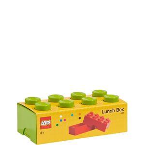 LEGO Brotdose/Lunchbox, mit acht Noppen, hellgrün