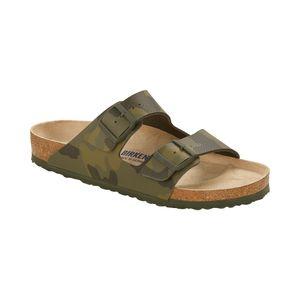 Birkenstock Herren Sandalen Pantoletten Leder grün 45