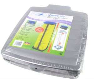 Abfallsammler / Müllsackständer für 60 oder 120 Liter 'Quadra120' - grau
