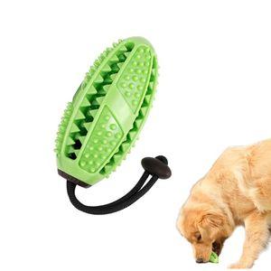 Hundespielzeug, Zahnbürste für Hunde, Welpen, Zahnpflege, Bürsten, Kauspielzeug, effektive Zahnreinigung, Massagegerät, ungiftig, Naturkautschuk, bissfest