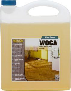 WOCA Holzbodenseife Natur 5 Liter +1 Baumwoll-Mopp