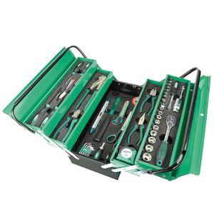 88-tlg. Werkzeugkasten Metall Gefüllt|Werkzeuge Handwerkzeuge Pro☆6814