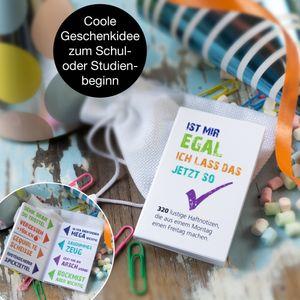 OfficeTree freche Haftnotiz lustig Studenten - Sticky Notes freche Sprüche im coolen Design - 400 Blatt 20x50 mm