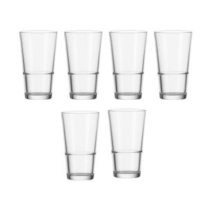 010899 Trinkglas 330 ml 6er Set Event Leonardo