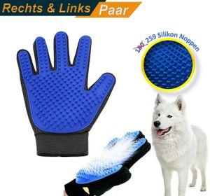 [Upgrade Version] ChyCare Pet Grooming Glove - Fellbürste - Fellpflege- und Massagehandschuhe für Haustiere - Perfekte Handschuh Bürste & Massager zur Entfernung loser Tierhaare von Pferde, Hunde und Katzen [1 Paar <> Rechts und Links] ⭐️⭐️⭐️⭐️⭐️