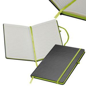 Notizbuch / DIN A5 / 160 S. / liniert / PolyurethanHardcover / Farbe: apfelgrün