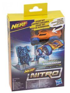 Hasbro Nerf Nitro Soft Racer Stunt Set (Motivauswahl) Sparksmash (E1270)