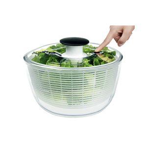 OXO 1351680V3MLNYK Salat-/Kräuterschleuder klein, klar