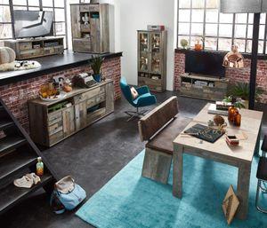 Wohnzimmer Komplettset BONANZA 4 Driftwood Nachbildung