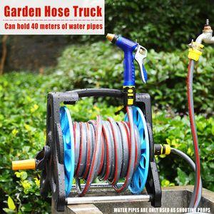 Scode Schlauchtrommel Gartenschlauch Trommel Gartenschlauchhalter Schlauchwagen Halter