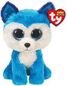 TY Beanie Boo Prince Husky Plush Soft Toy 15cm 36310