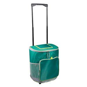 Kühltasche faltbar Kühlkorb Kühlbox Picknicktasche Lunchtasche Mittagessen Tasche Thermotasche Kühltasche Isoliertasche für Lebensmitteltransport TROLLEY 28L Grün