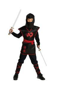 Ninja Krieger-Oberteil mit Gürtel, Größe:152