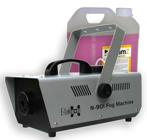E-Lektron N-901 Nebelmaschine 900W inkl. 5L Beamz Nebelfluid -  EL189042