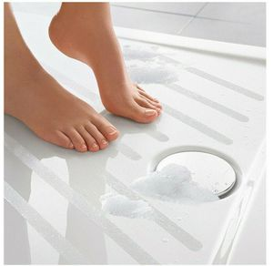 12x Antirutsch Bad Streifen Anti Rutsch Dusche Badewanne Transparent Fliese Treppen Anti-Rutsch Bad