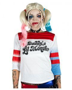 Harley Quinn Suicide Squad Cosplay Longsleeve Damen Größe: XXL