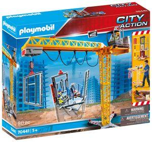PLAYMOBIL City Action 70441 RC-Baukran mit Bauteil