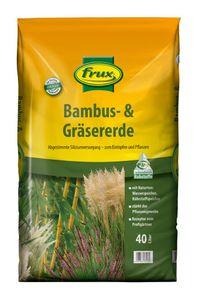 frux® Bambus & Gräsererde 40 Liter mit extra Silizium