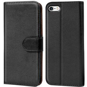 Book Case für iPhone 6 6s Hülle Flip Cover Handy Tasche Schutz Hülle Etui Schale