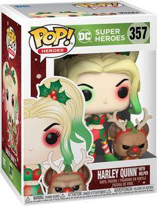 DC Super Heroes - Harley Quinn With Helper 357 - Funko Pop! - Vinyl Figur