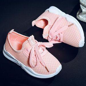 1 paar Laufschuhe Turnschuhe Sneaker pink 26 wie beschrieben Unisex Kinderschuhe