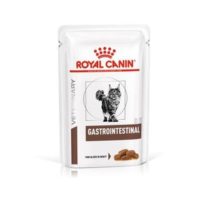 Royal Canin Vet Diet Gastro Intestinal Feuchtnahrung Katze , Option:12 x 85 gr
