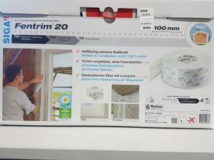 Siga Fentrim 20 Dichtungsband 100mm Fensterdichtband 25 Meter innen Hochleistungsband NEU