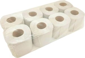64 Rollen Toilettenpapier 2-lagig 250 Blatt 100% Recycling Klopapier WC Papier