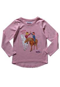 Bibi und Tina Langarm-Shirt Longsleeve Kinder Mädchen Oberteil, Größe:116
