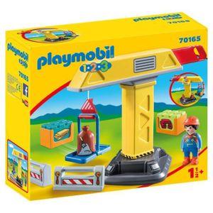 PLAYMOBIL® 70165 - 1-2-3 - Baukran