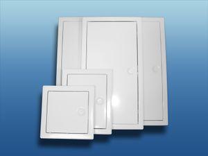 Revisionstür Metall mit Vierkantverschluss : 200x200mm Größe: 200x200mm