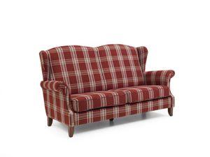 Max Winzer Verita Sofa 2,5-Sitzer - Farbe: rot  - Maße: 193 cm x 86 cm x 108 cm; 2960-3000-2077423-F07