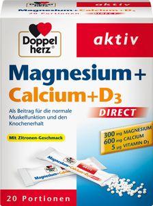 Doppelherz   Magnesium+Calcium+D3   20 Portionen