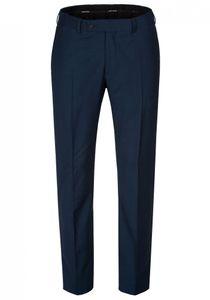 Daniel Hechter - Modern Fit - Herren Baukasten Hose aus reiner Schurwolle in blau oder schwarz, meliert (H 5635-7993), Größe:54, Farbe:Blau (62)