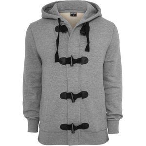 Urban Classics Duffle Zip Hoody, Größe: L; Farbe: Grey