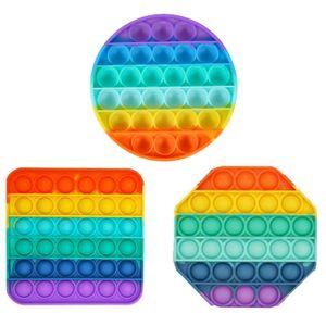 3-teiliges Set Toy Pop Push Pop It - & kinderfreundlich - für Kinder & Erwachsene - Push Bubble zur Ablenkung bei Stress & Nervosität