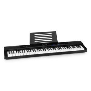 Schubert Preludio Keyboard  , 88 Tasten Keyboard  , Leuchttasten als Lernhilfe  , Anschlagdynamik: 3-fach regulierbar  , 140 Klangfarben  , 16 Demosongs  , Aufnahme-/Wiedergabefunktion  , USB-Port für MP3-Wiedergabe  , inkl. Sustain Pedal  , Lern- & Splitfunktion  , Lautsprecher: 2 x 5 W RMS  , Kopfhöreranschluss  , Mikrofoneingang  , AudioIn / AudioOut  , schwarz