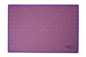 Schneidematte 3-lagig und selbstheilend violett pink 100x200cm XXXL
