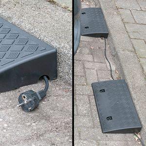 2 x Bordsteinrampe H 7cm 3000KG Schwellenrampe Rampe Rollstuhl Türschwellenrampe