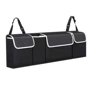 Gep?ckaufbewahrungstasche Aufbewahrungstasche Langlebiger Cartrunkbag 4 Taschen Trunkstoragebag Zubeh?r Auto Travelstoragebag Auto