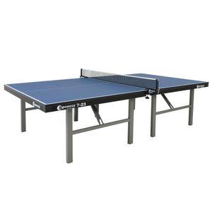 Sponeta S 7-23 Indoor-Tischtennisplatte, 25mm, blau, mit Netz; 225.7420/L